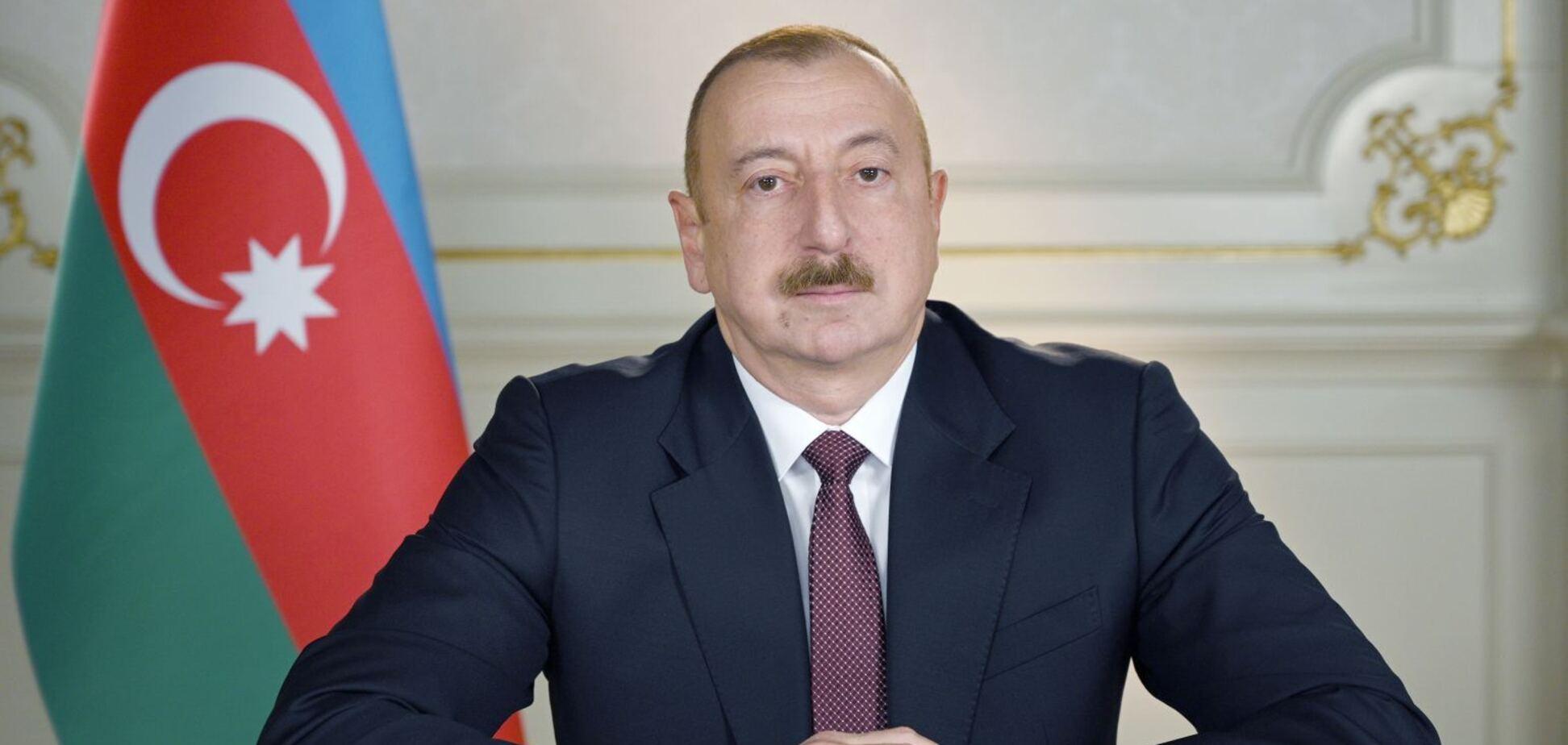 Алієв оголосив про закінчення війни в Карабасі