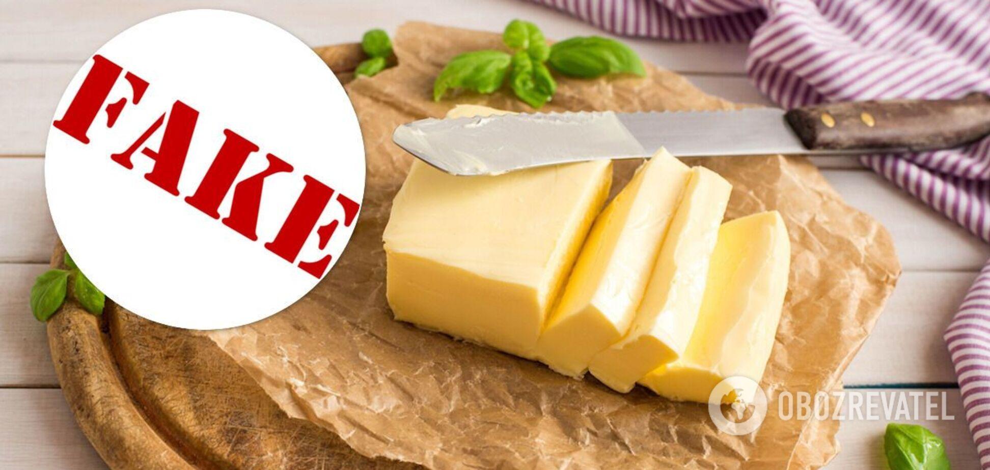 В Україні виготовляють фальшиве масло в кожній області – Союз споживачів