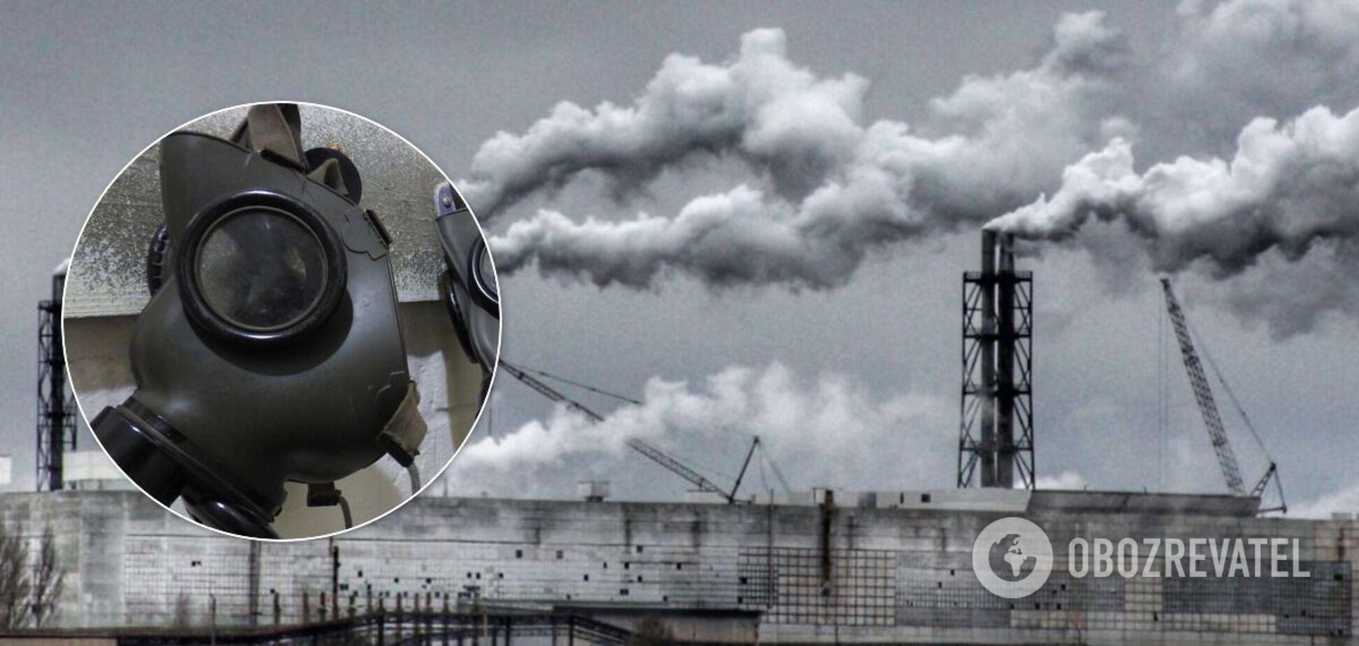 З боку Криму зафіксували викид токсичних речовин