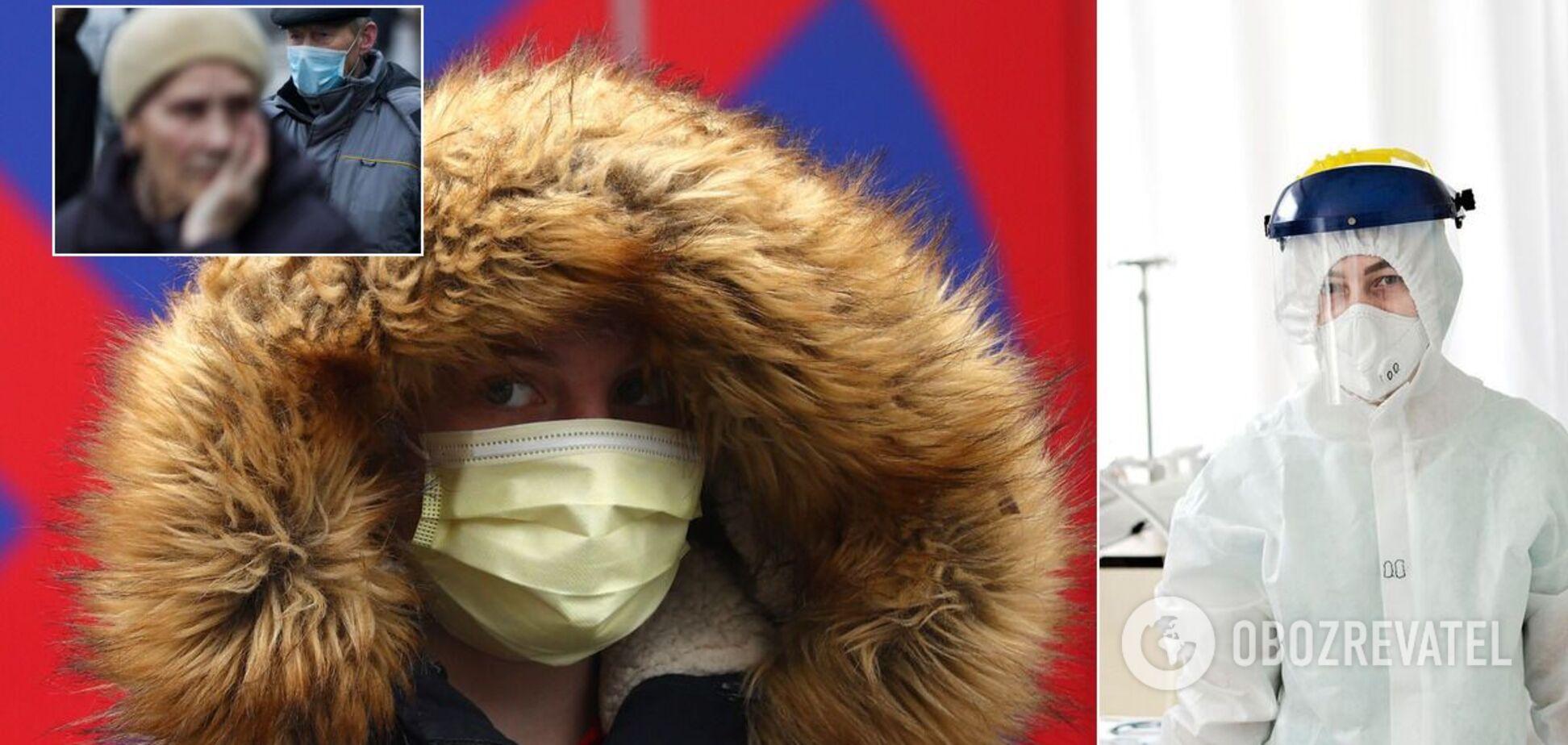 Епіцентри коронавірусу в Україні