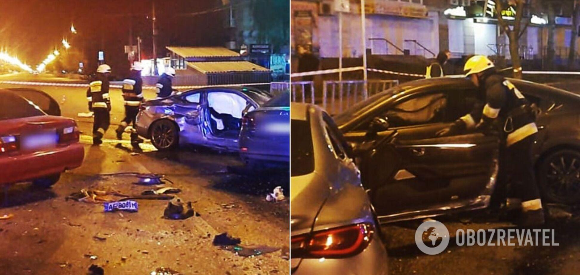 У Дніпрі трапилася смертельна ДТП з 5 авто: відео аварії