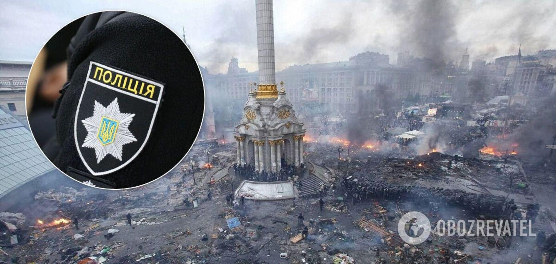 Чинний поліцейський затримав протестувальника на Майдані і підробив документи