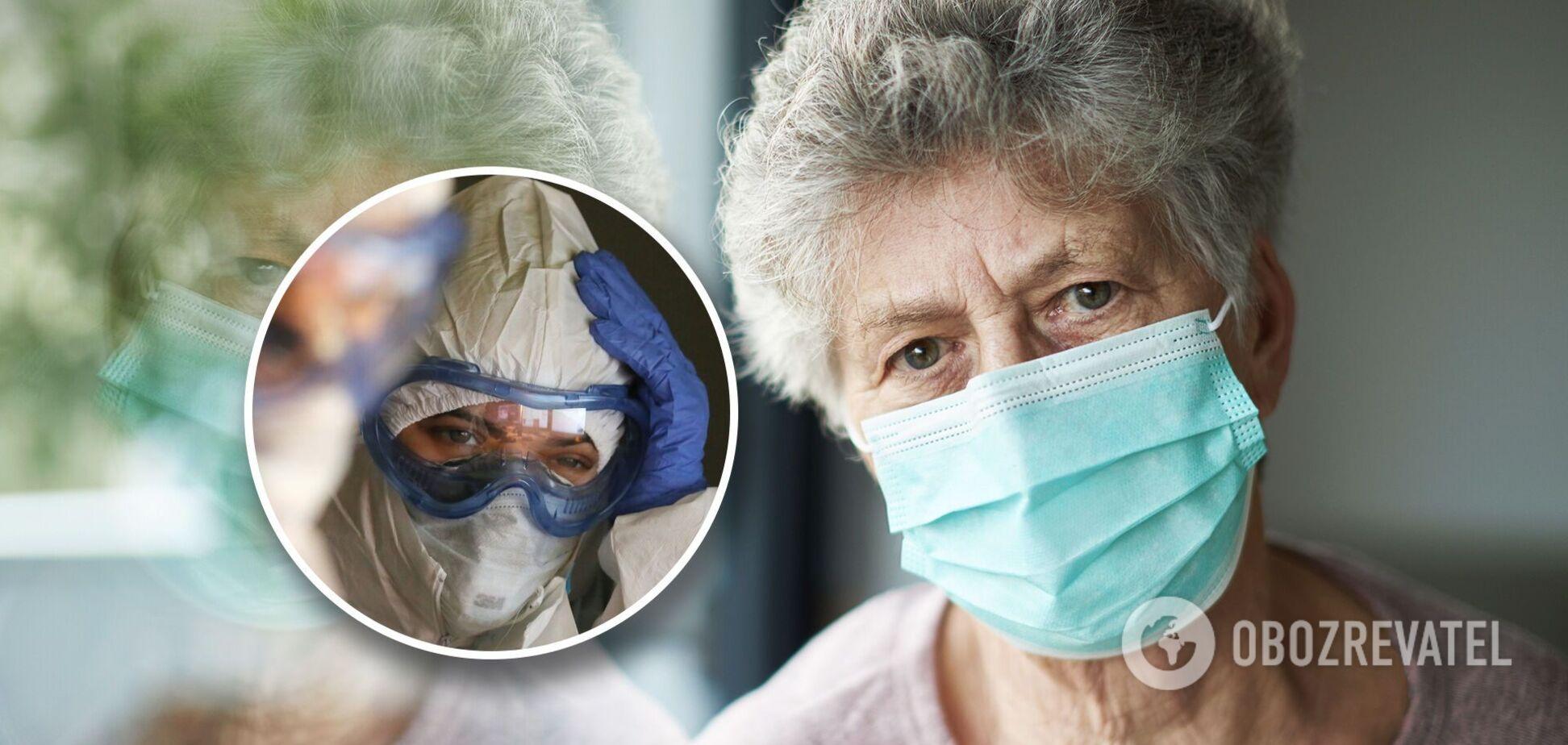 На Житомирщині пацієнти з коронавірусом лежать у коридорах. Медики падають із ніг, до хворих на діабет та онкологію не доходять руки