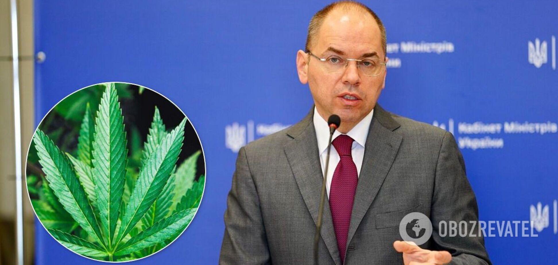 Степанов висловився про медичний каннабіс