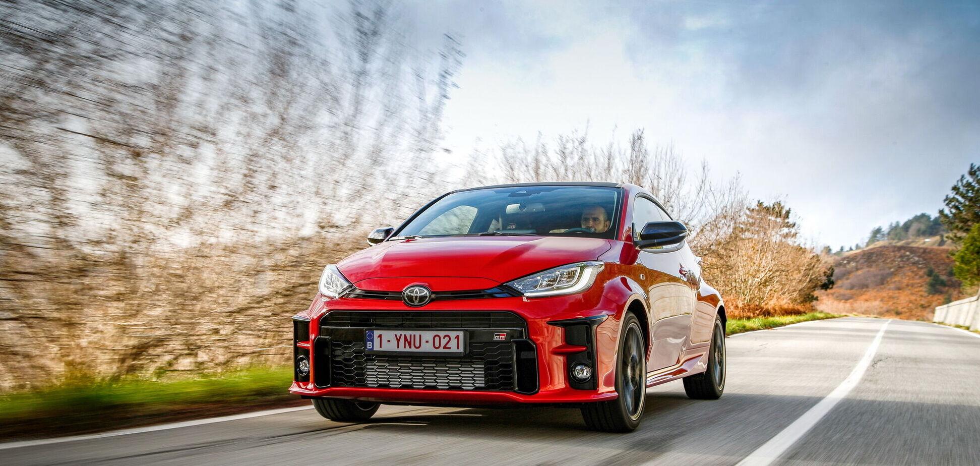 У Європі стартував продаж найбільш 'прокачаної' Toyota