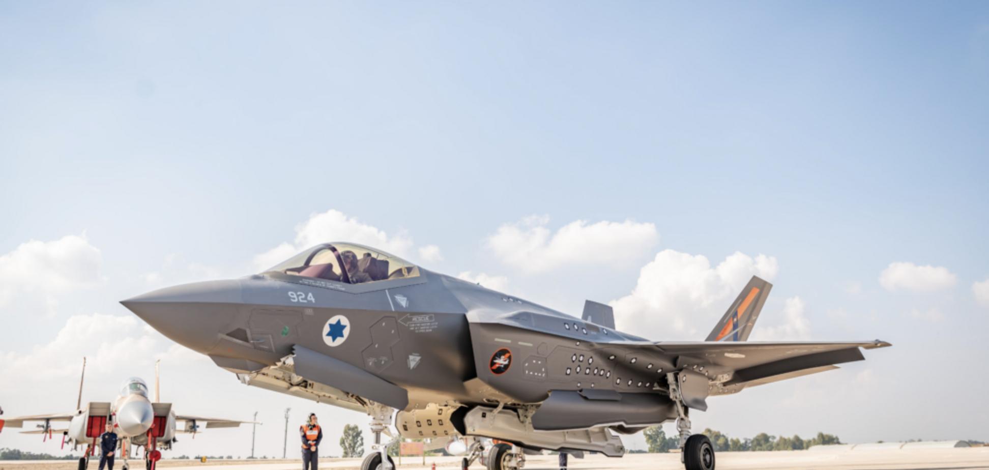 США отправили в Израиль уникальный истребитель F-35. Фото
