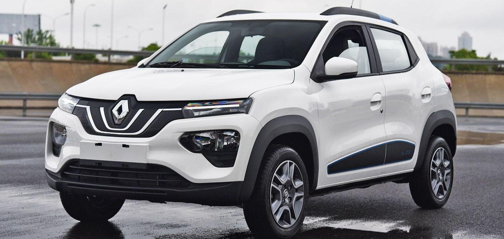 В Украине появился электрический кроссовер Renault за $13 000