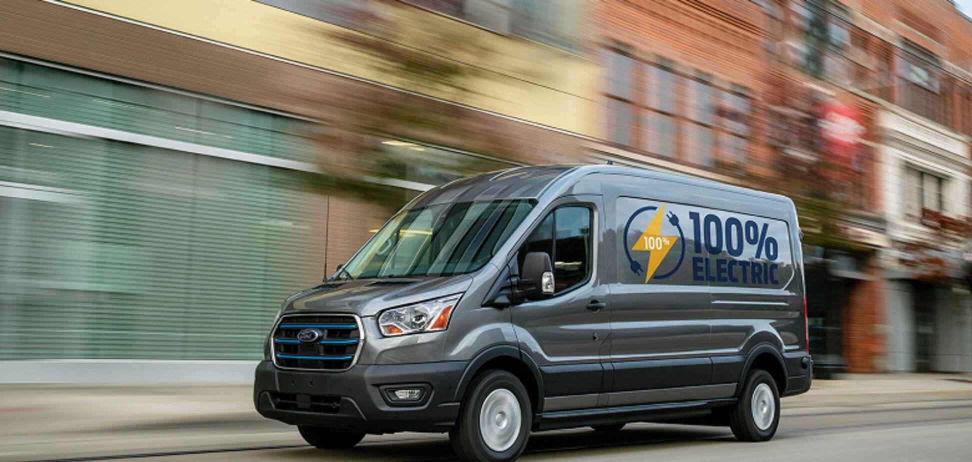Ford представил электрический Transit и сразу назвал его цену