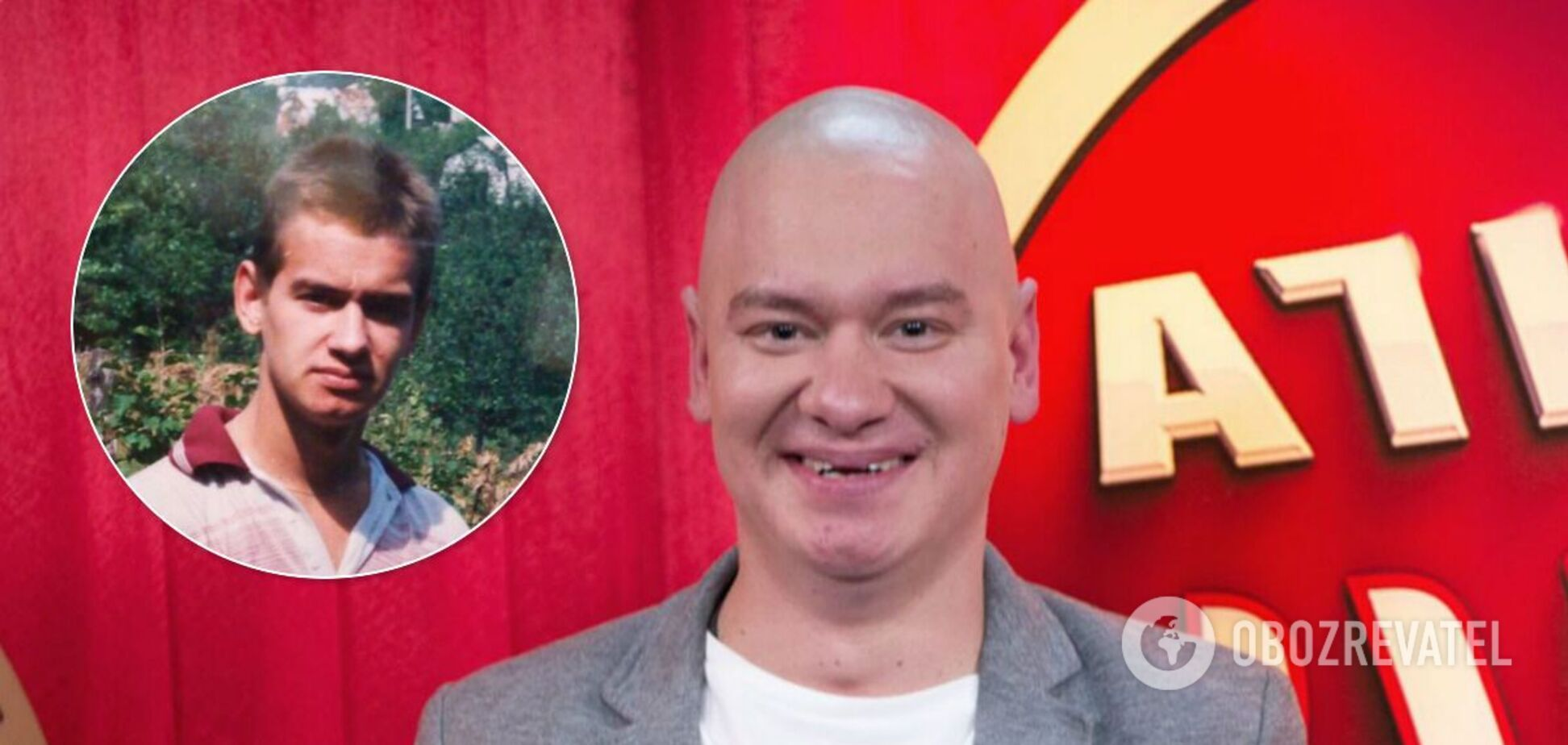 Євген Кошовий відростив волосся