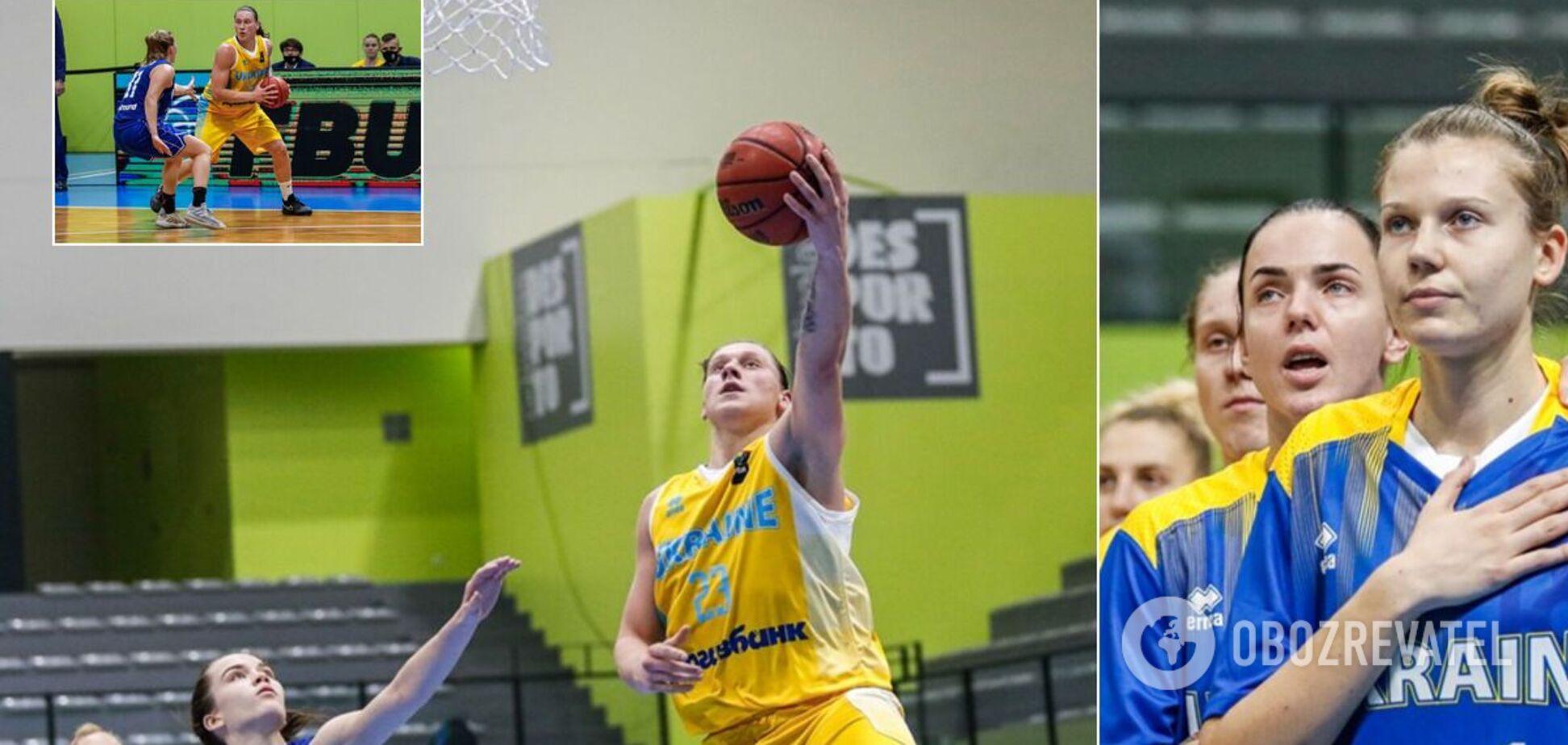 Украинки уверенно обыграли Финляндию в отборе на Евробаскет-2021