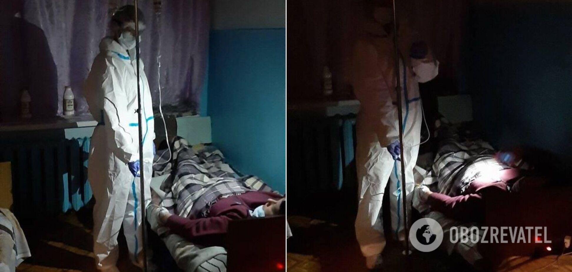 Без света и канализации: в сети показали кадры из 'коронавирусной' больницы под Днепром