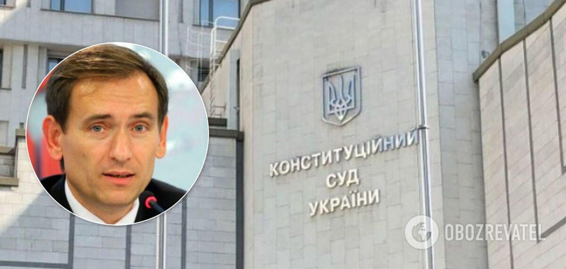 У Зеленского ответили на 'давление' судей и назвали главу КСУ 'неадекватным'