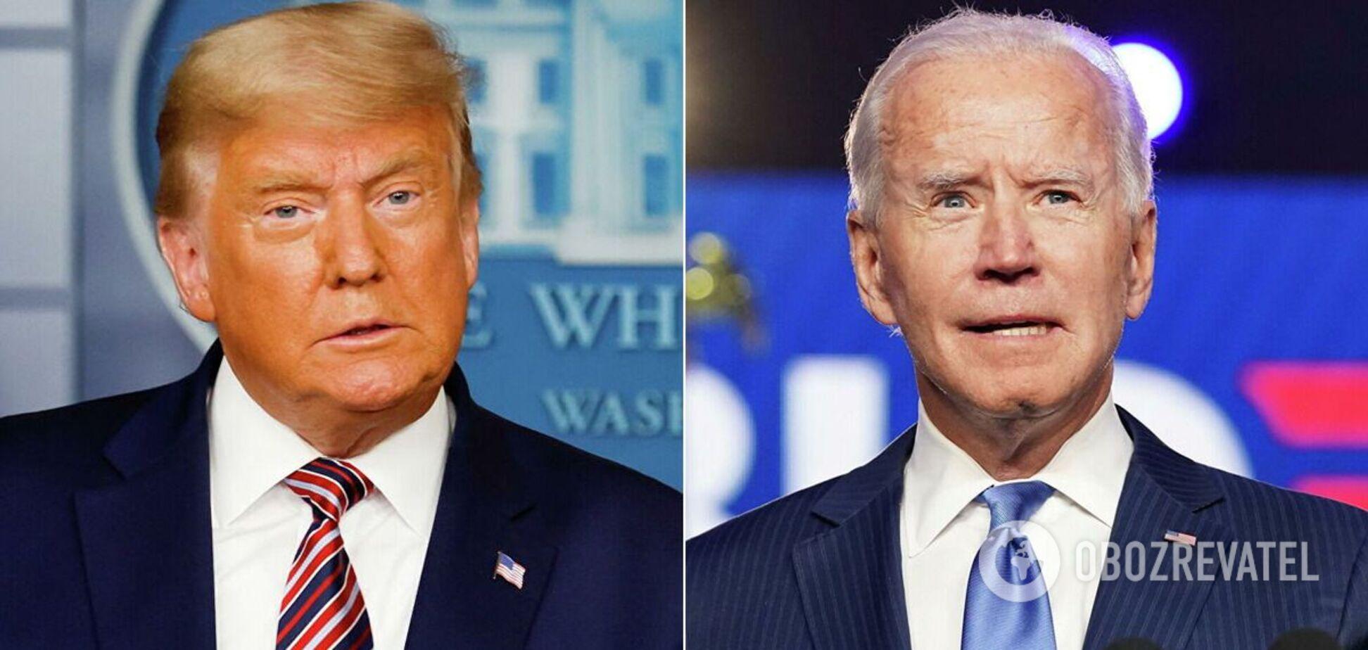 Выборы в США: Трамп и Байден