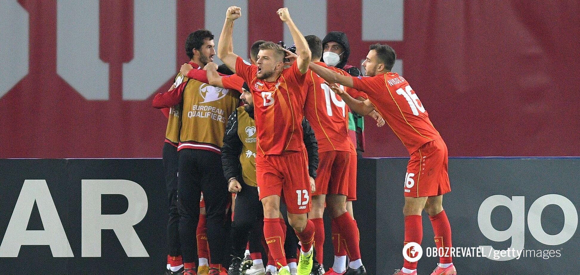 Сборная Северной Македонии по футболу