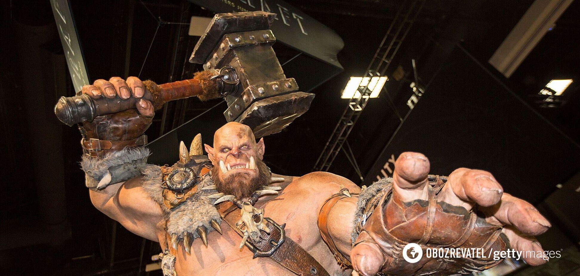 Орк из игры World of Warcraft