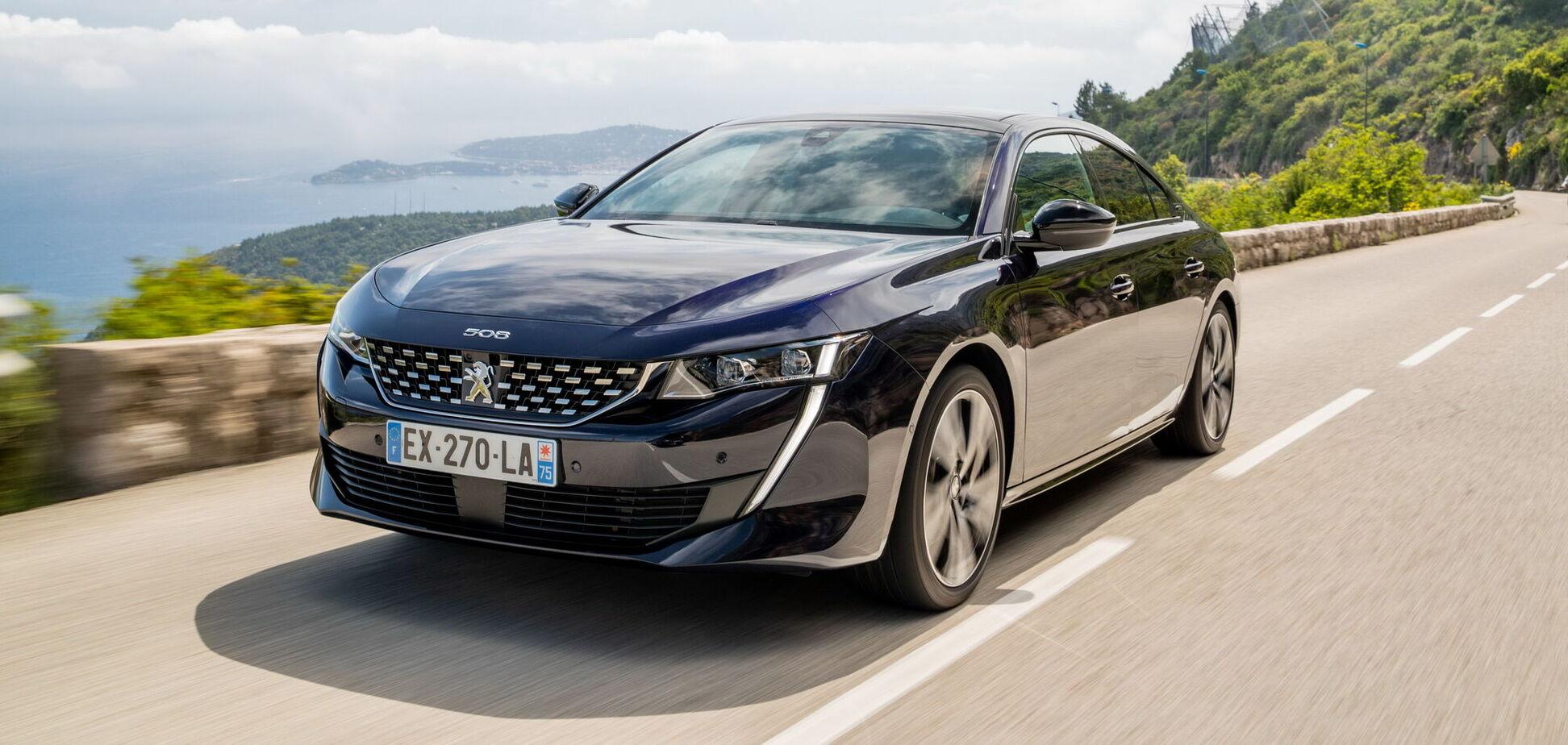 В Україні стартував продаж найпотужнішої версії Peugeot 508