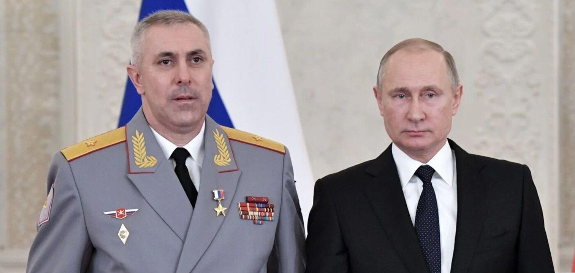 Рустам Мурадов с президентом РФ Владимиром Путиным