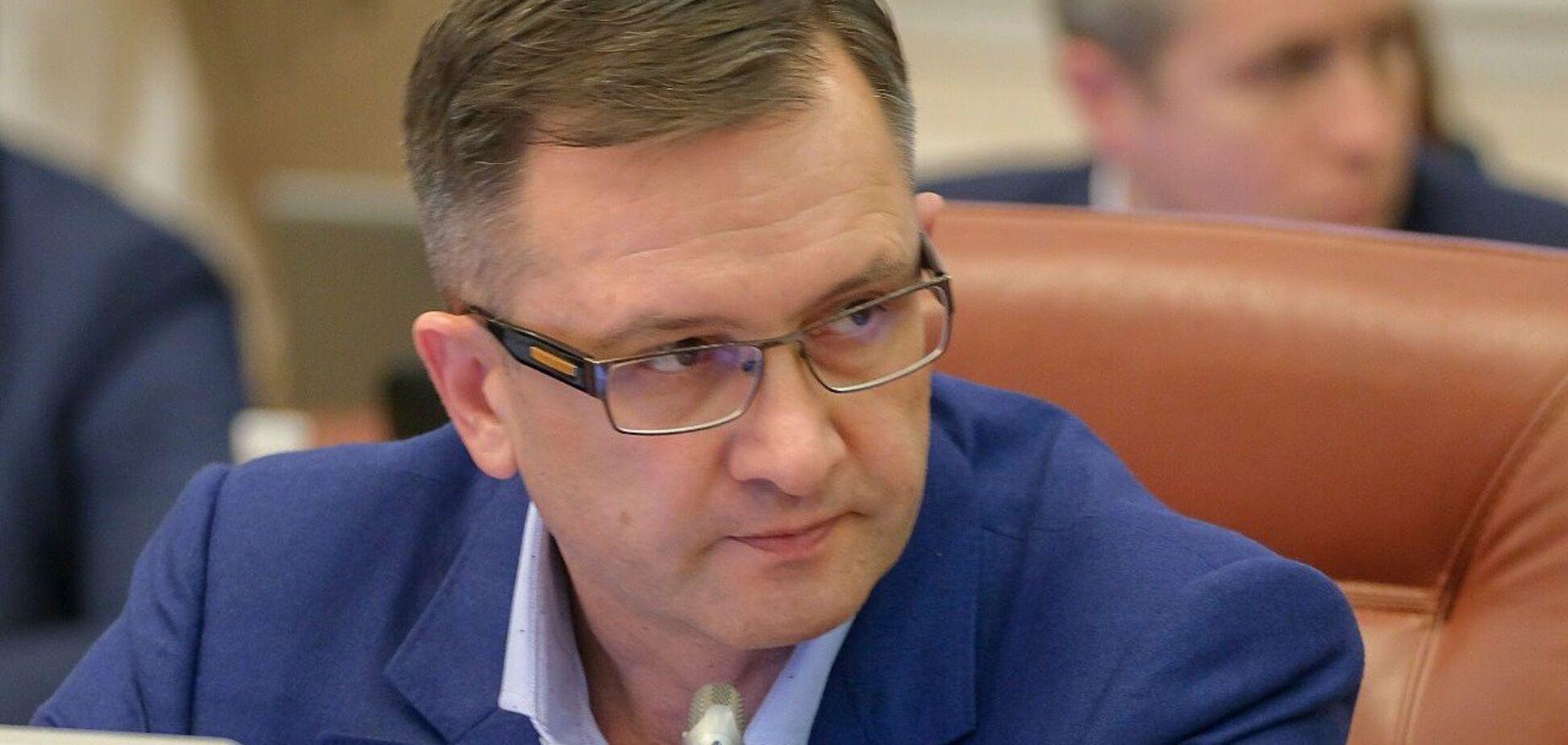 Ігорь Уманський написав заяву про відставку