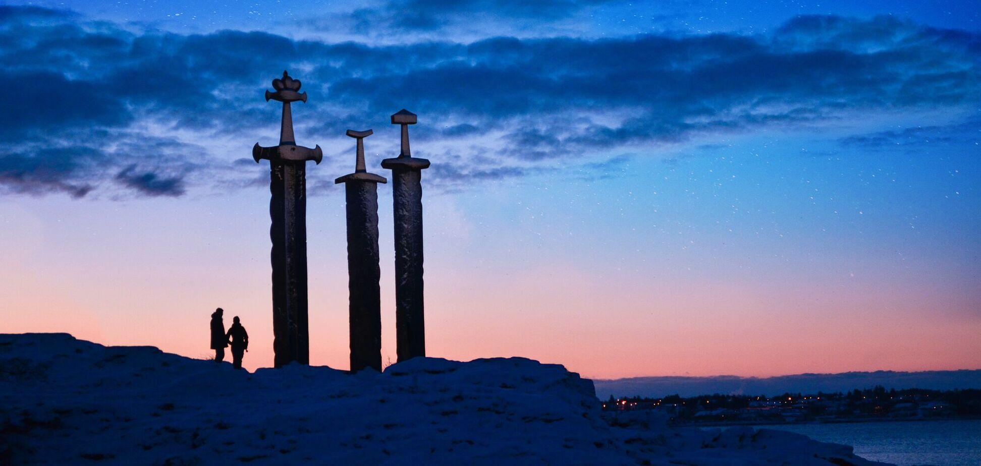Найденный в Норвегии курган викингов датируется V веком. Иллюстрация