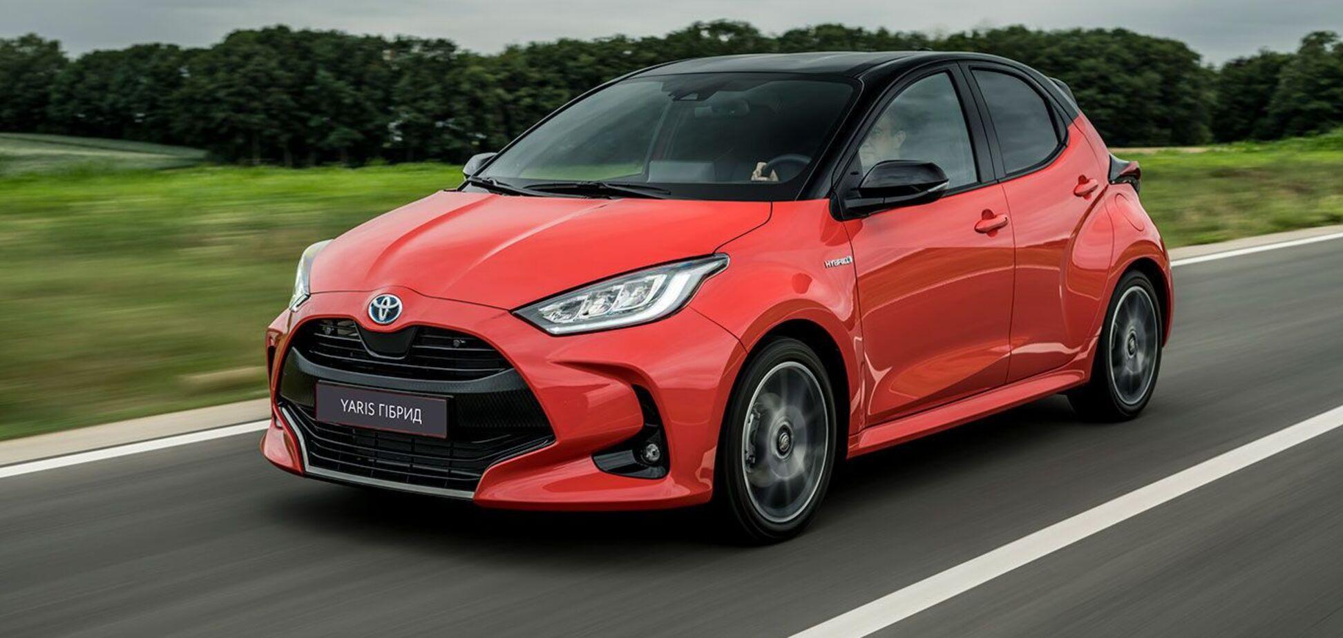 Toyota выводит на украинский рынок абсолютную новинку с расходом 3,1 л/100 км