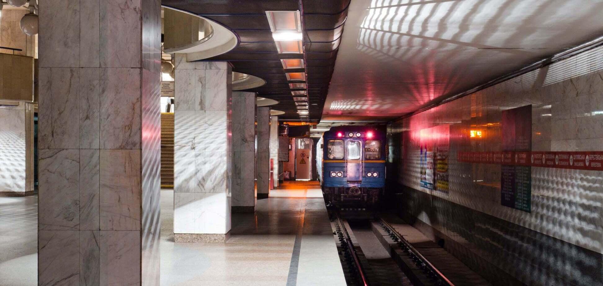 Метро Києва визначилося з найпопулярнішою станцією