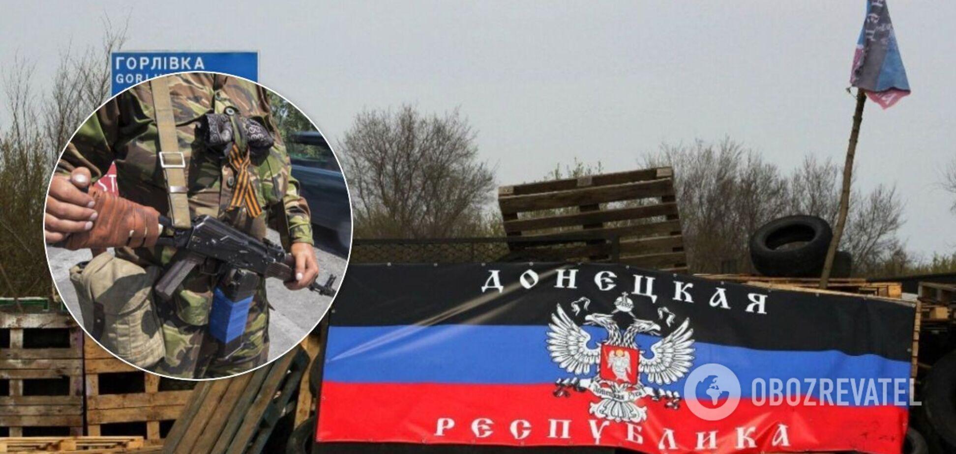 Террорист нес боевое дежурство на одном из блокпостов Донецка