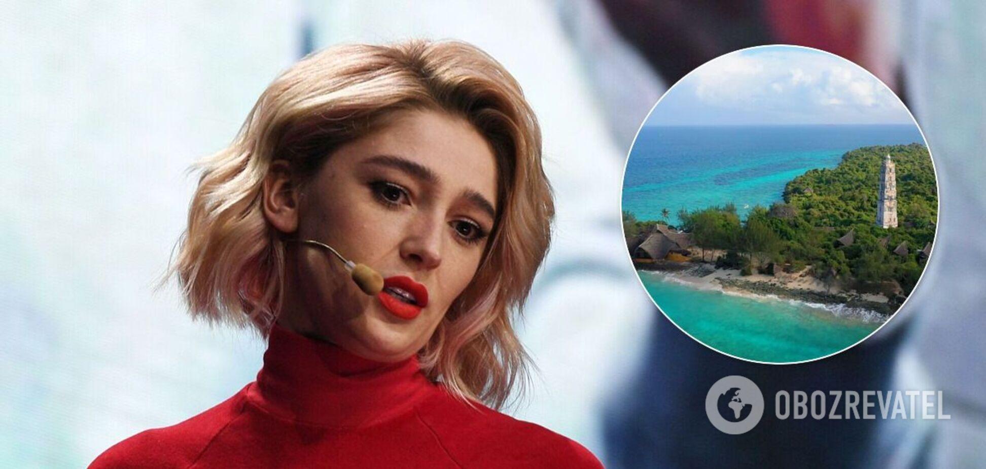 Івлєєва розповіла, як орендувала цілий острів