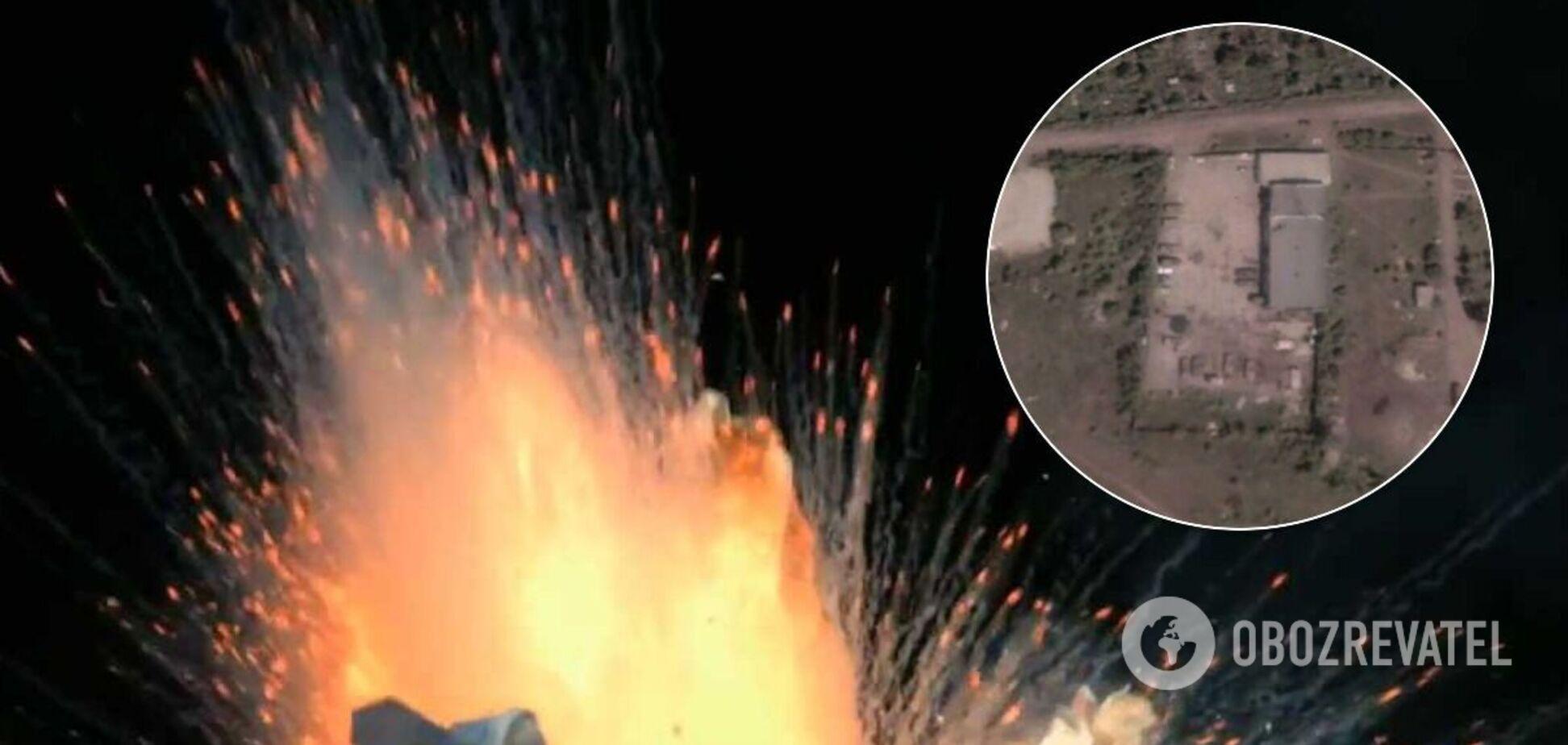 СМИ нашли базу террористов в районе взрывов на Донбассе