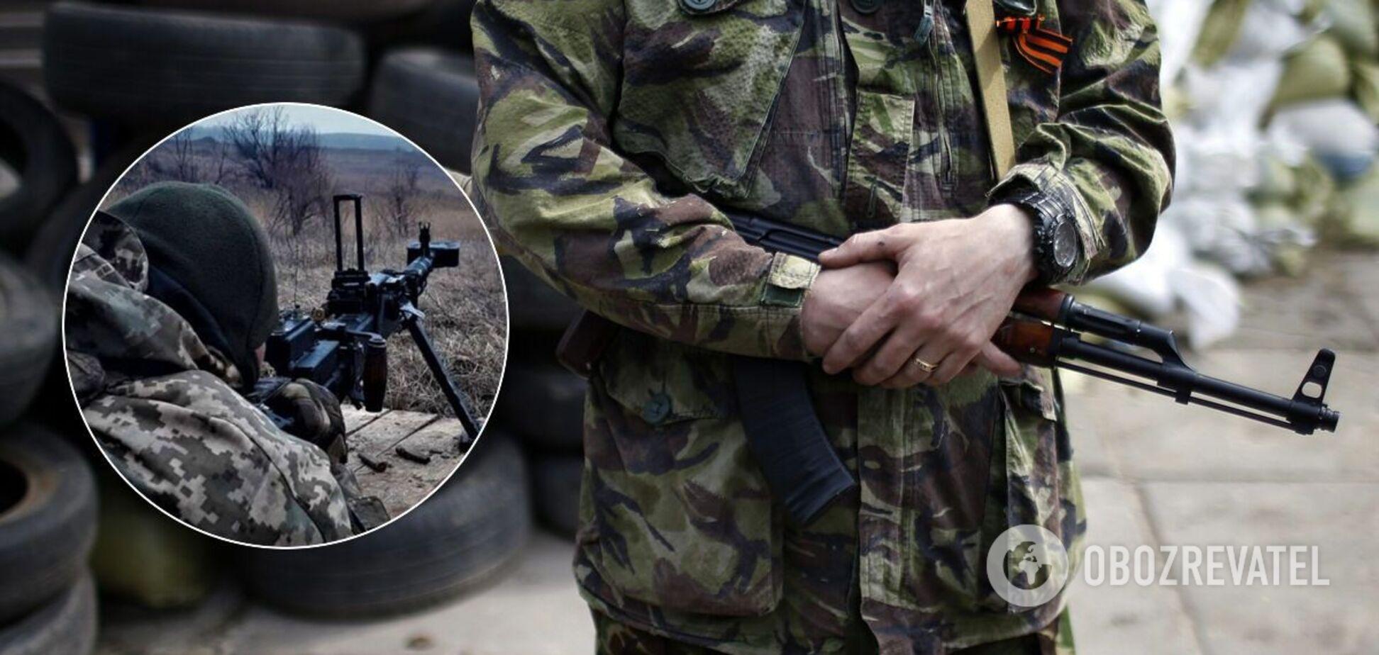 Терористи на Донбасі знову порушили перемир'я та вели вогонь по ЗСУ