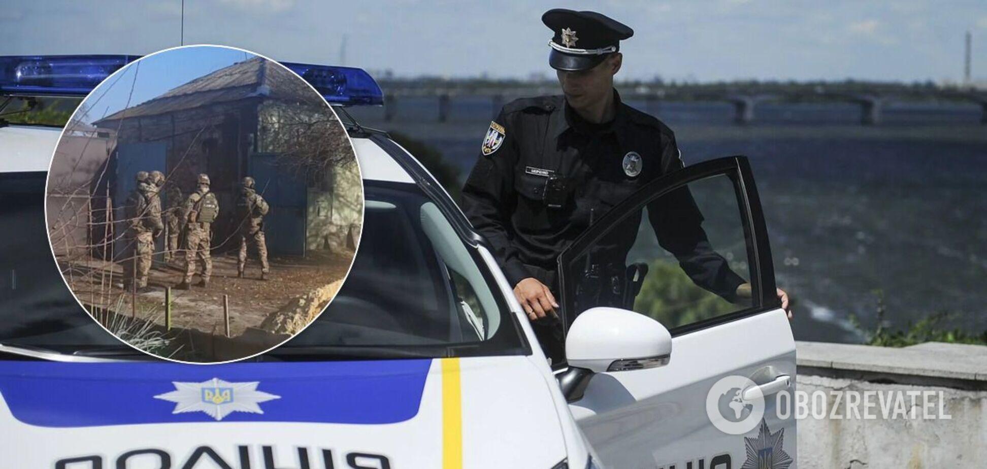 У Харкові чоловік погрожував поліції підірвати гранату