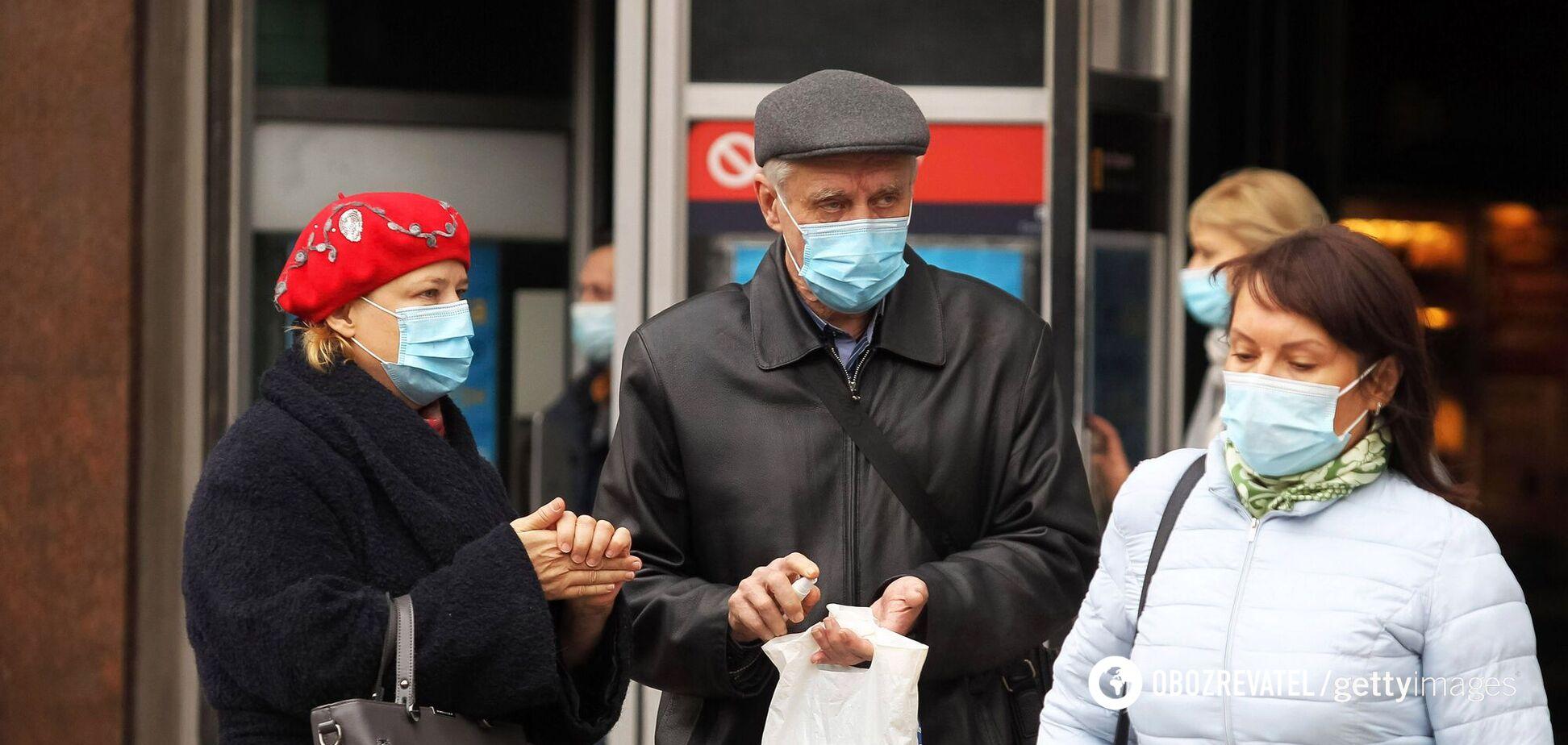 Статистика щодо коронавірусу в Києві
