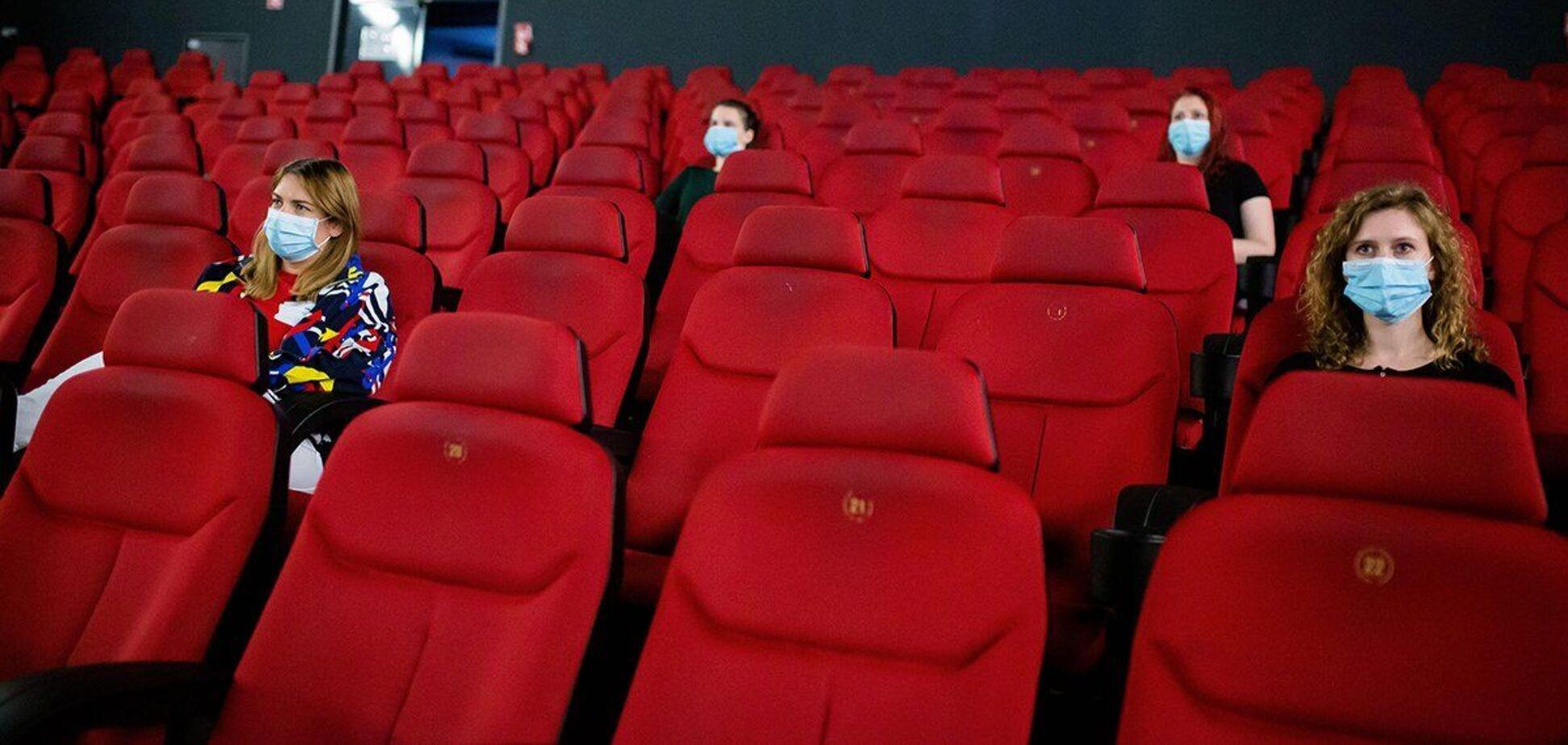 Карантин вихідного дня в Україні: як будуть працювати кінотеатри