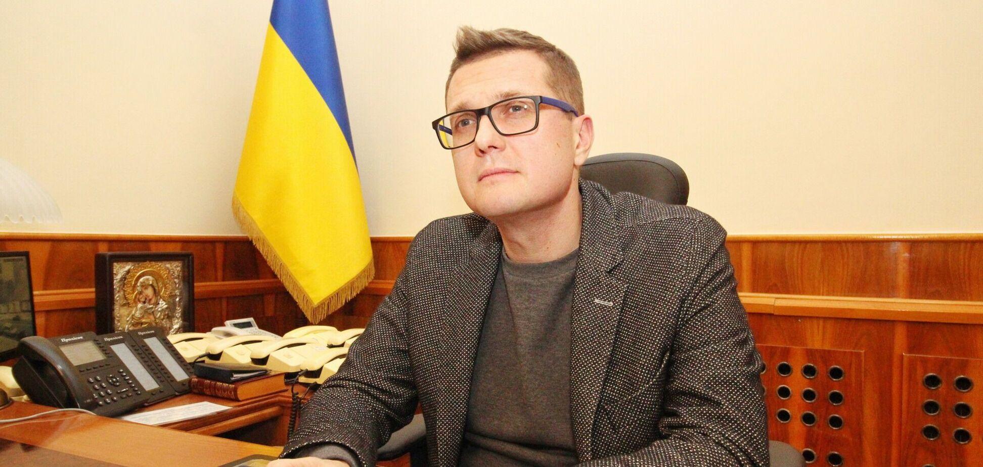 Баканов образився на заборону для СБУ мати родичів у Росії