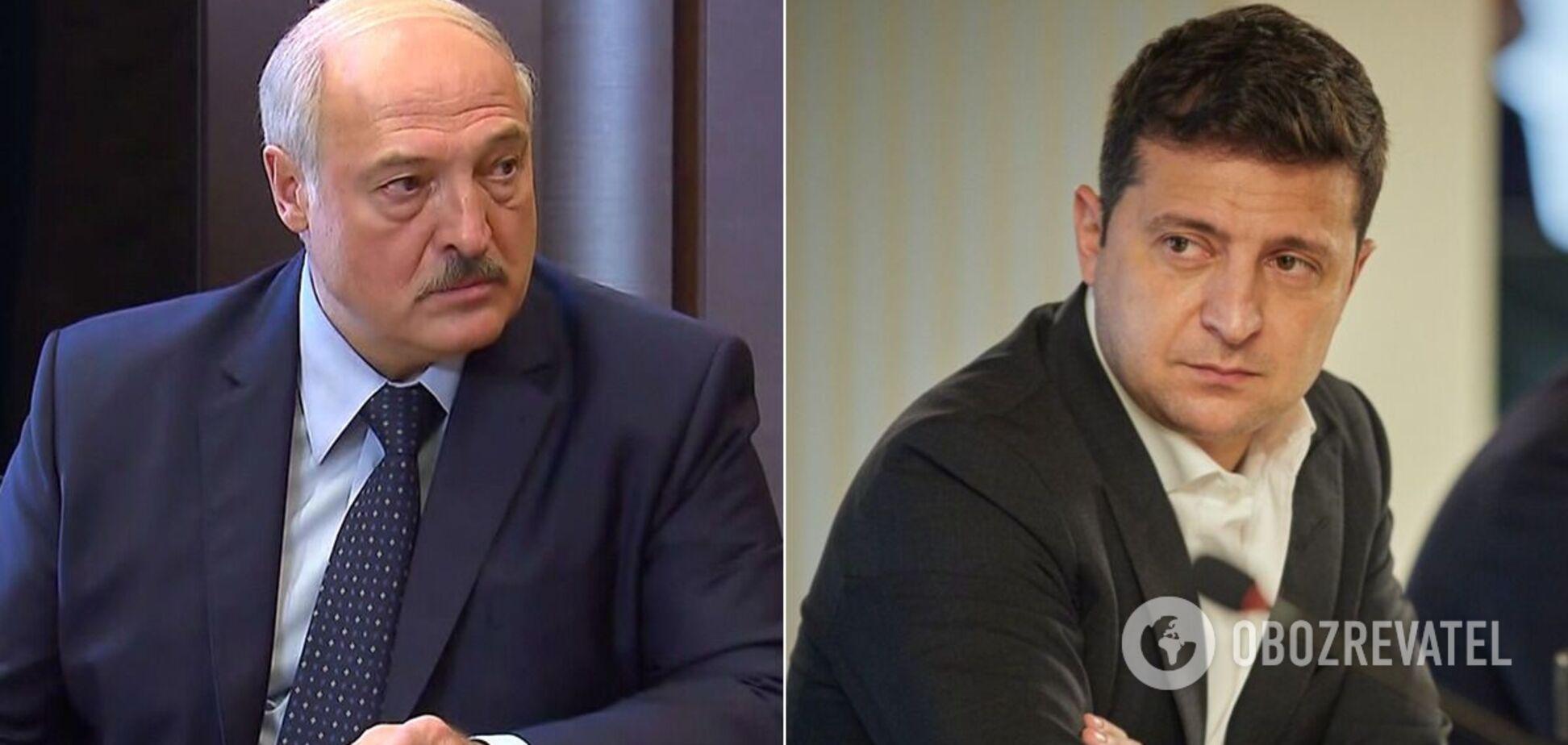 Лукашенко і Зеленський