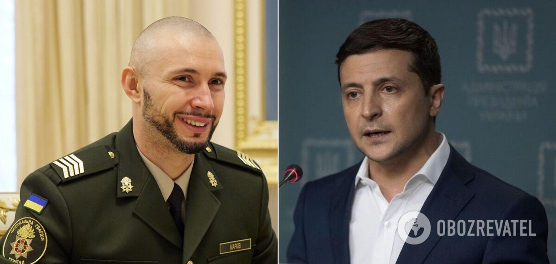 Зеленский рассказал о примере Маркива и национальной идее