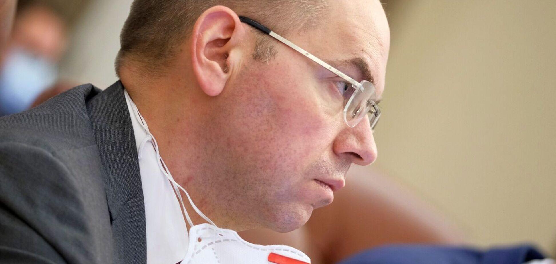 Степанов заразився коронавірусом