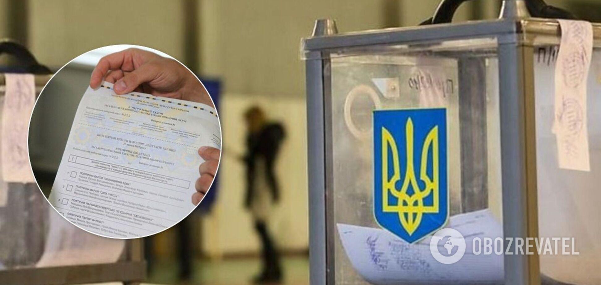 На выборах в Украинке парень порвал бюллетень и нарвался на полицию. Видео инцидента