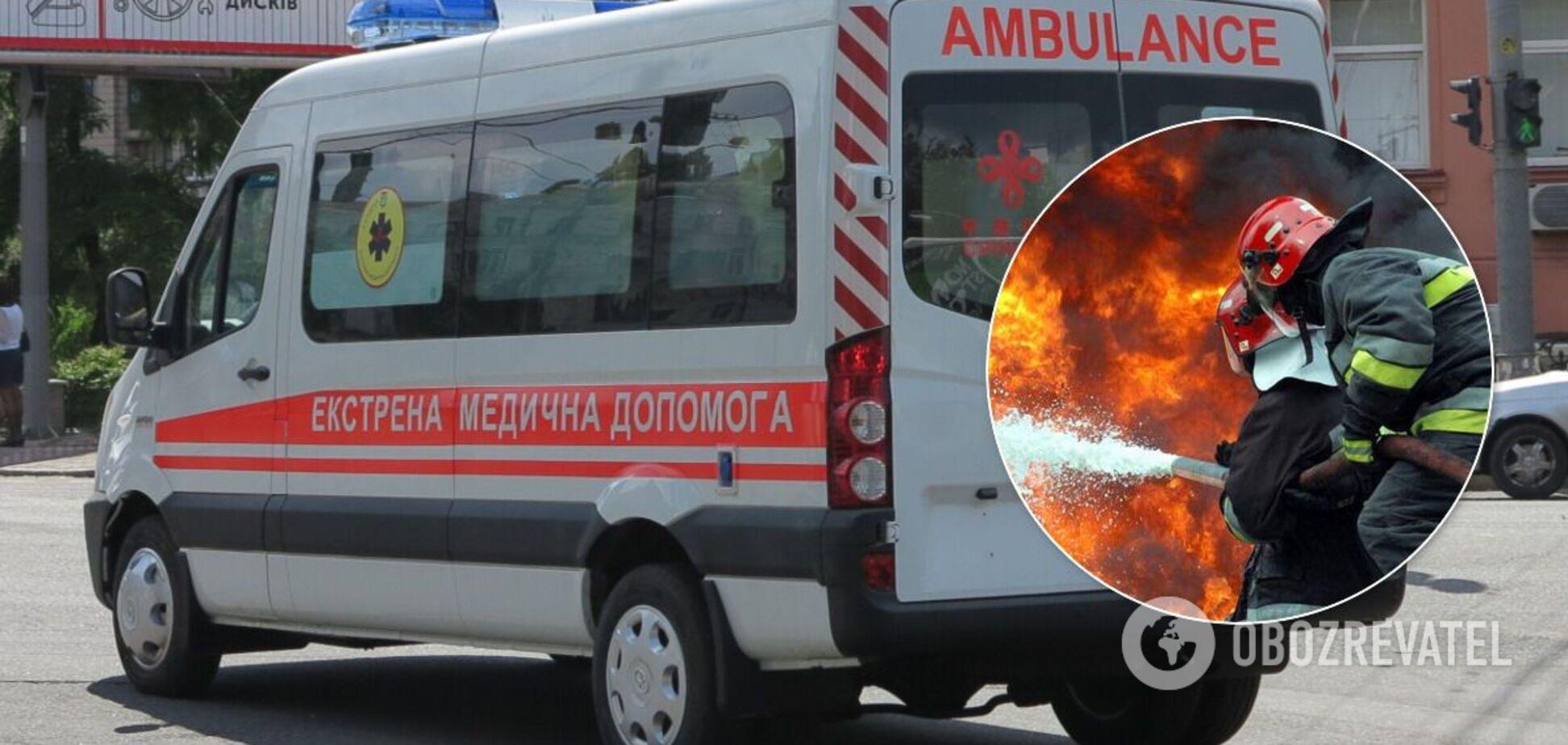 На Днепропетровщине в пожаре погибло трое детей