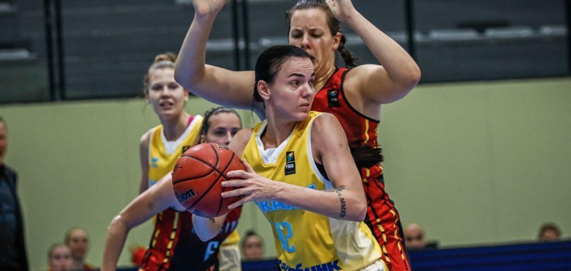 Жіноча збірна України закріпилася на 2-му місці у відбірковій групі Євробаскету-2021