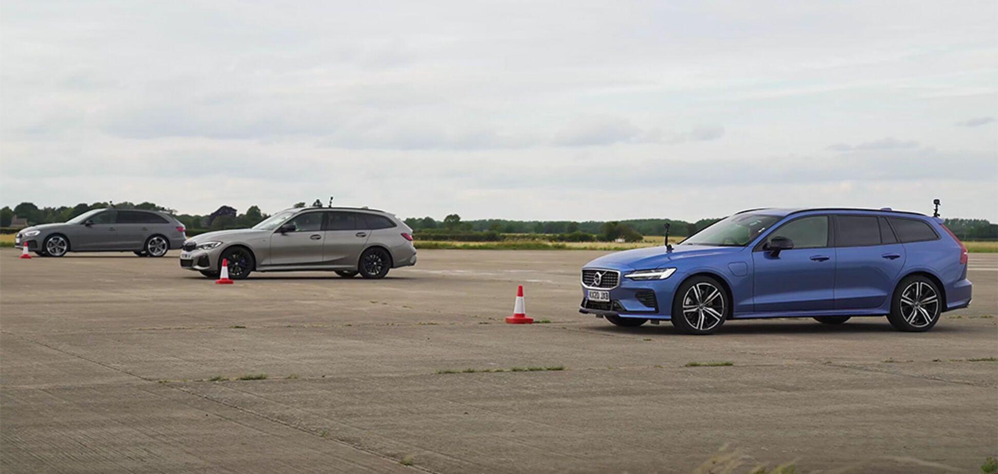 Журналисты сравнили на скорость бензиновое, дизельное и гибридное авто