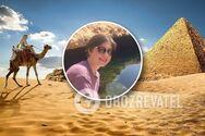Українка розповіла про визначні пам'ятки Єгипту