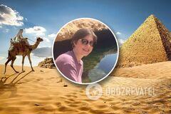 Украинка рассказала о достопримечательностях Египта