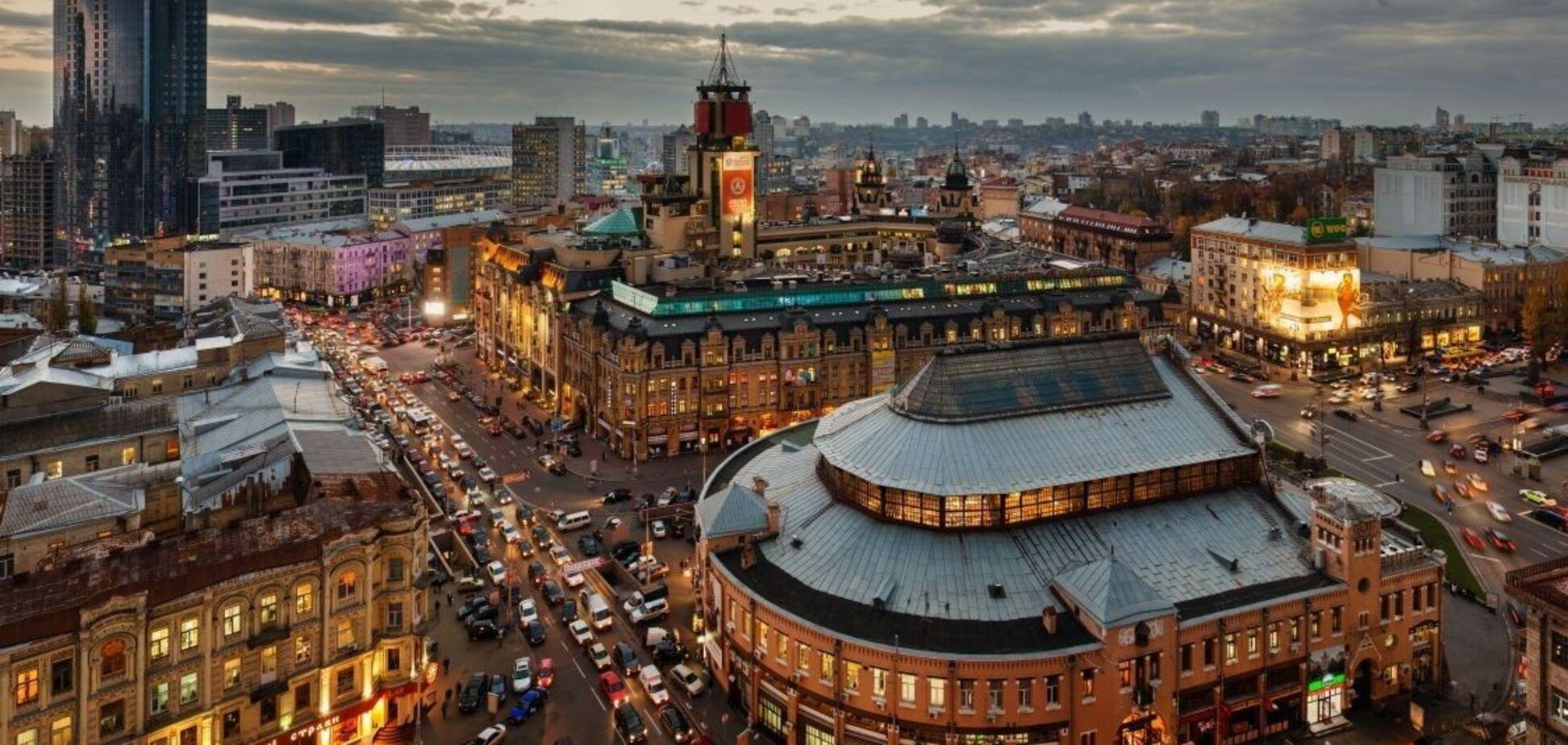 В сети вспомнили дух старого Киева с отелем 'Прага' в центре. Фото