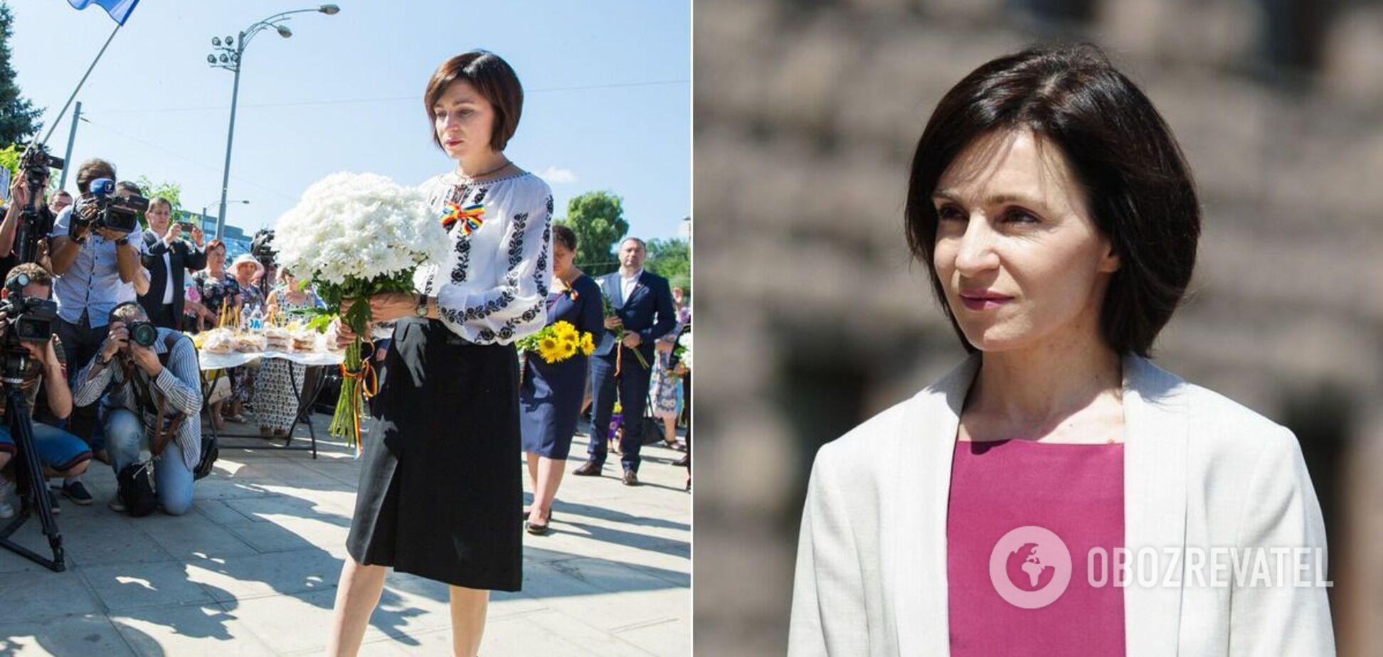 Правила стилю президента Молдови Маї Санду