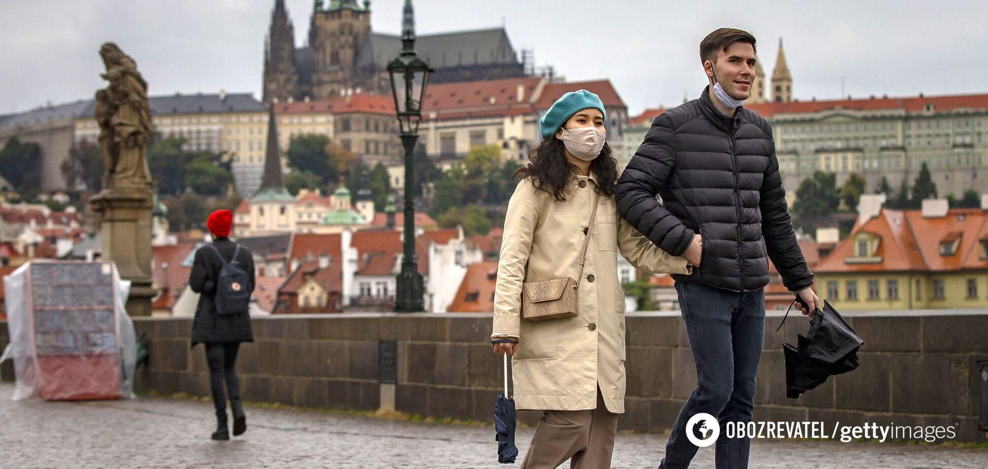 в Чехии хотят провести массовое бесплатное тестирование на COVID-19