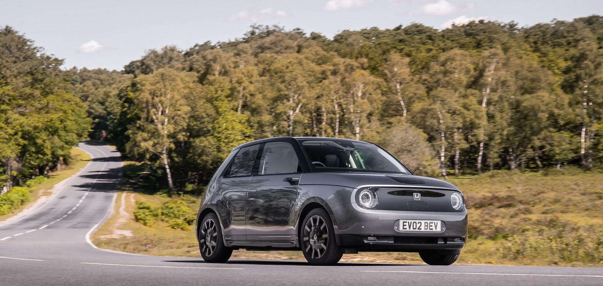 Електромобіль Honda е став 'Автомобілем року' в Німеччині