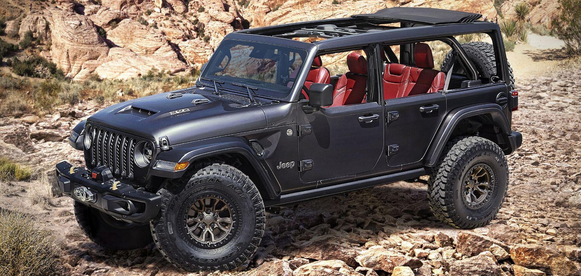 Jeep анонсировал выпуск Wrangler с мотором V8