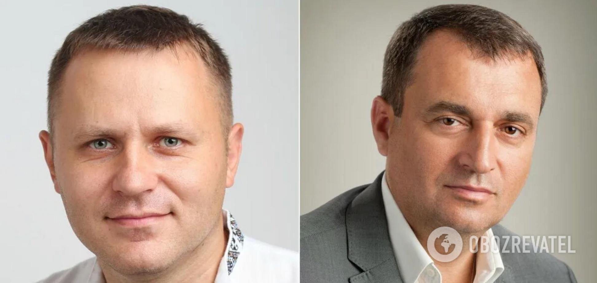 Михаил Поситко и Владимир Мельниченко