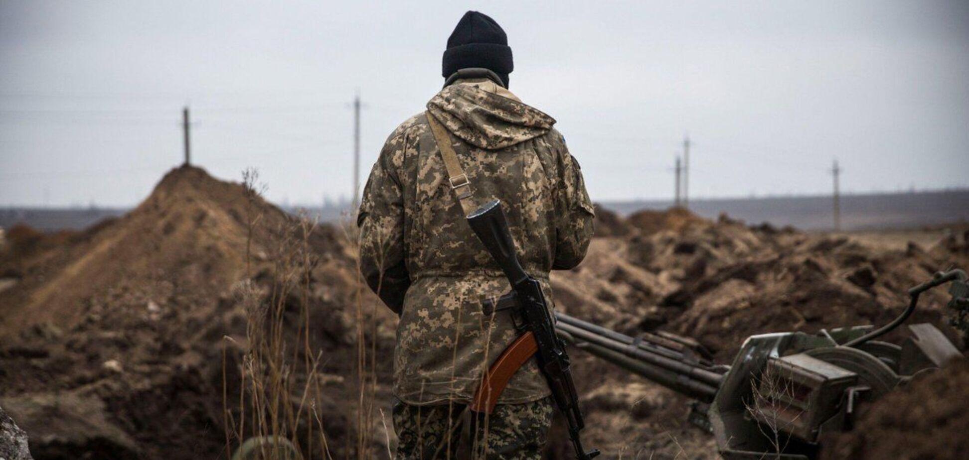 Терористи провели навчання на Донбасі