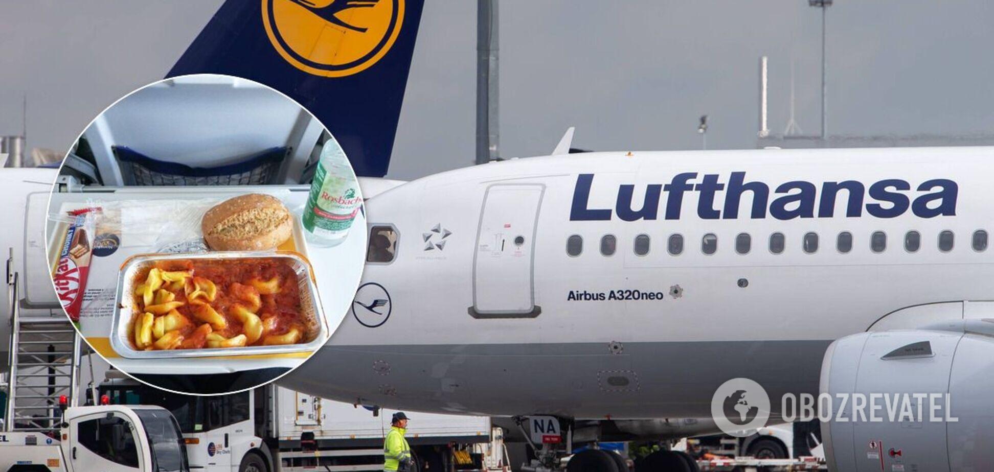 Lufthansa перестанет бесплатно кормить пассажиров эконом класса